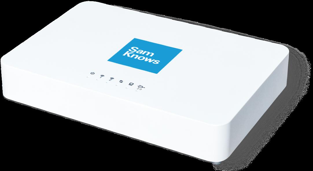 sam knows box modem