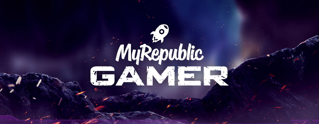 MyRepublic Gamer Banner Medium