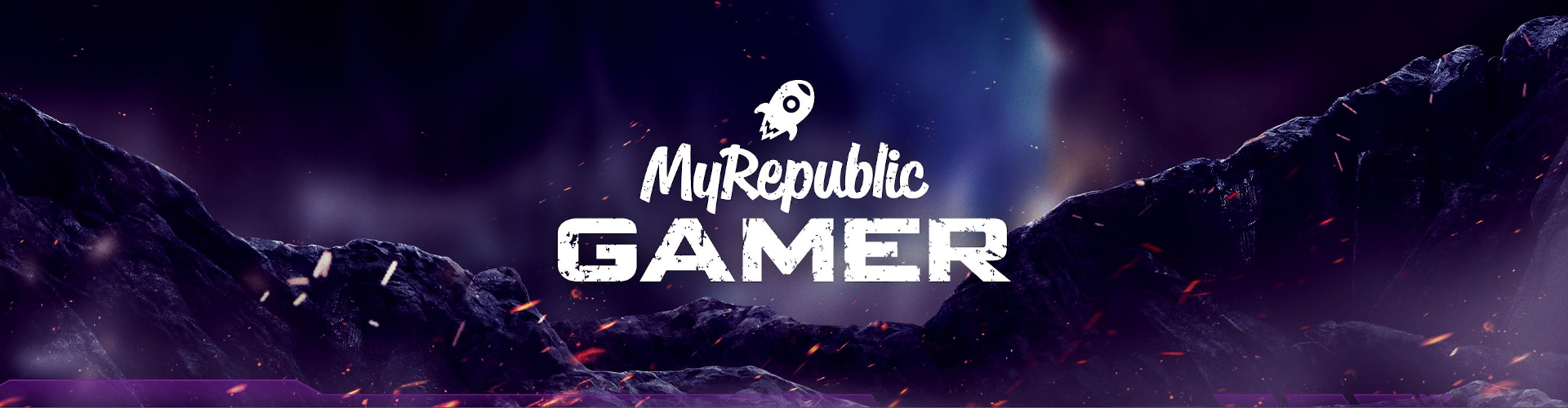 MyRepublic Gamer Banner Large