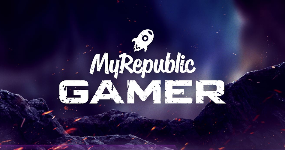 MyRepublic Gamer Banner Short